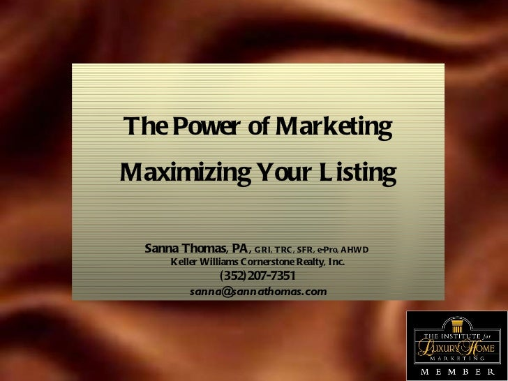Listing Your Property