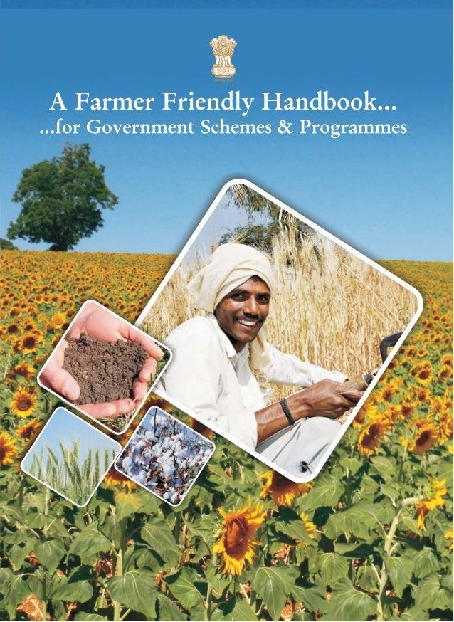 List of agri scheme