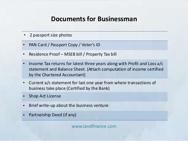 how to build business documents