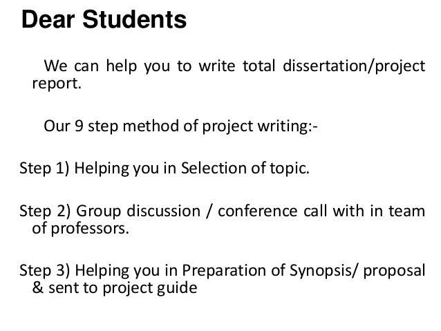 Dissertation help in mumbai