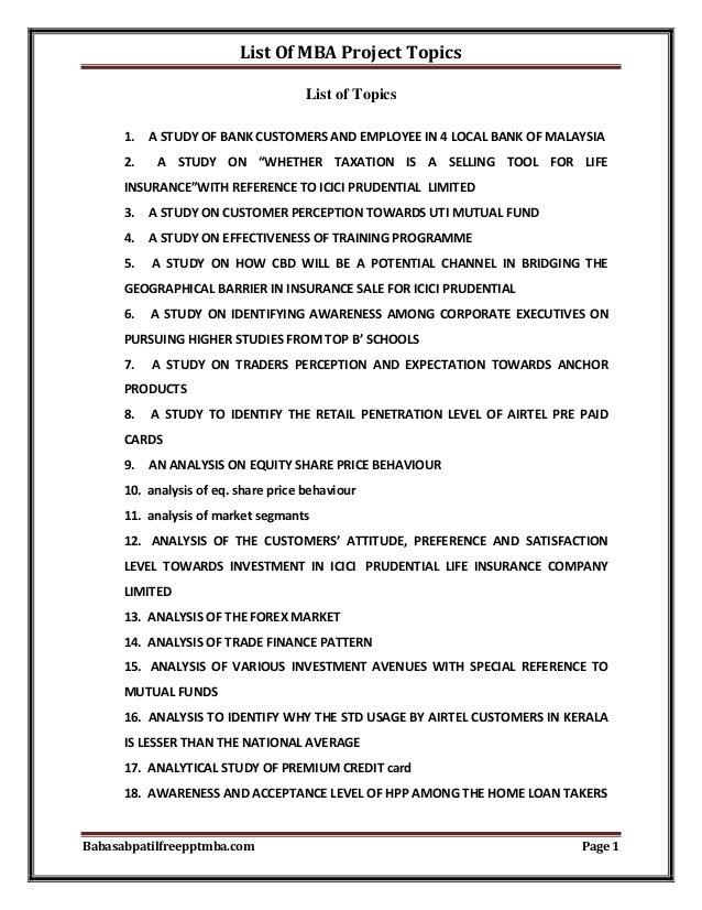 dissertation topics in finance