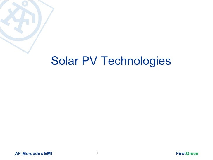 List of solar technologies