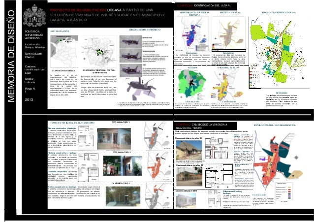 Lamina 1 proyecto de arquitectura en galapa for Laminas arquitectura