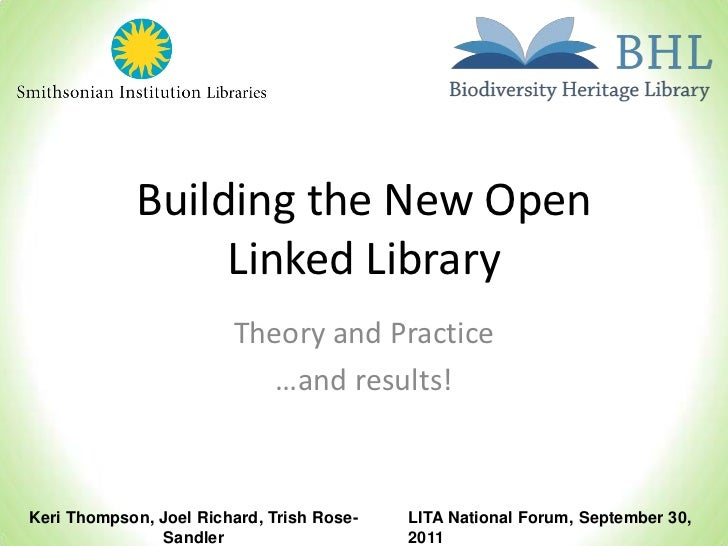 Building the New Open Linked Library