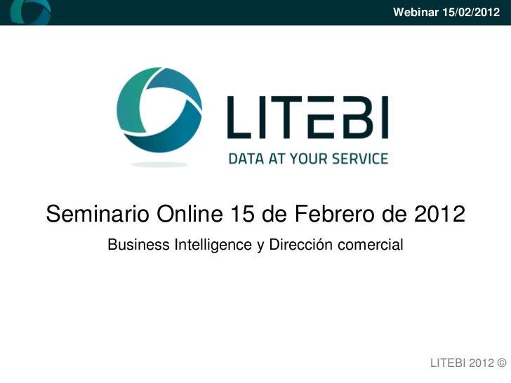 Litebi   webinar - business intelligence y dirección comercial presentación