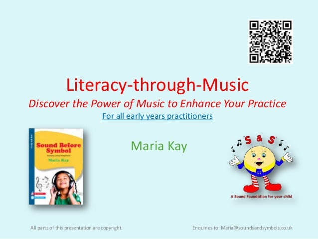 Literacy-through-MusicDiscover the Power of Music to Enhance Your Practice                                   For all early...