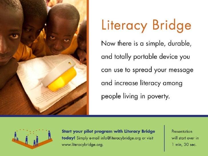 Literacy  Bridge  Brief