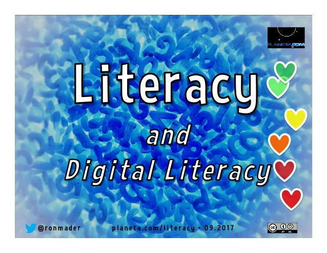 September 8 is International Literacy Day