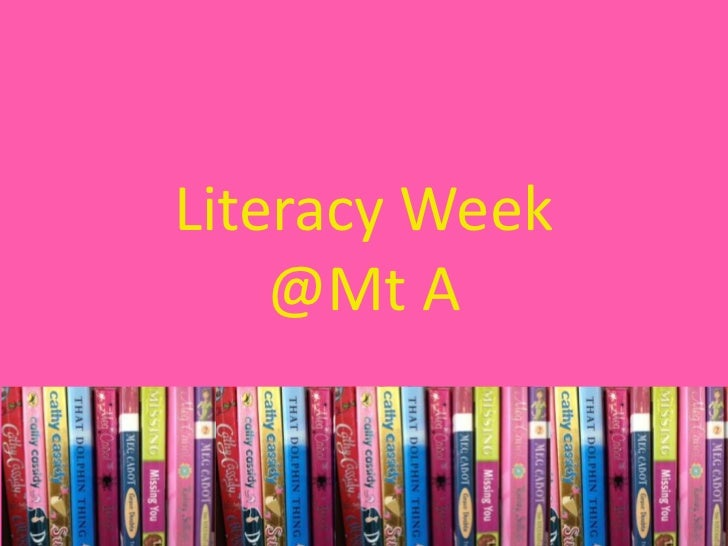 Literacy week @mta