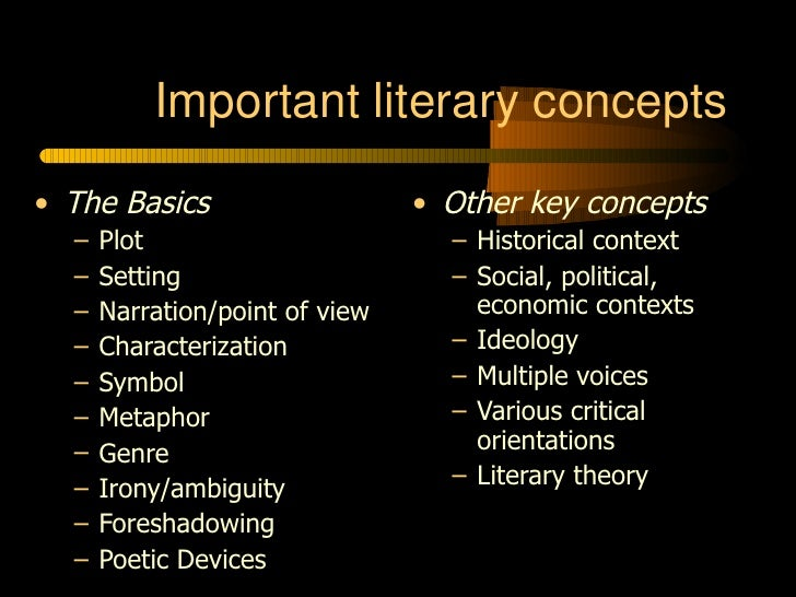Genre for literary analysis