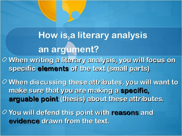 analytical argument thesis Paragraph structure use effective paragraph structure to explain and support your thesis statement analysis that doesn't relate evidence to claim and thesis.