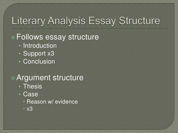 Literary Comparison Essay Thesis