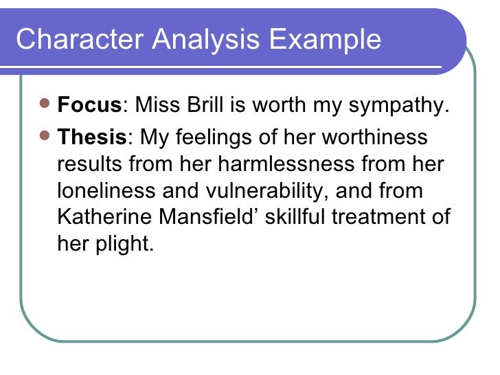 the help character analysis