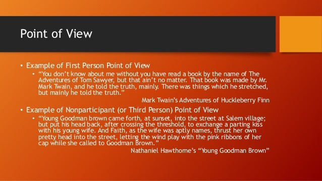 Is it okay if you use first person point of view in a literary essay?