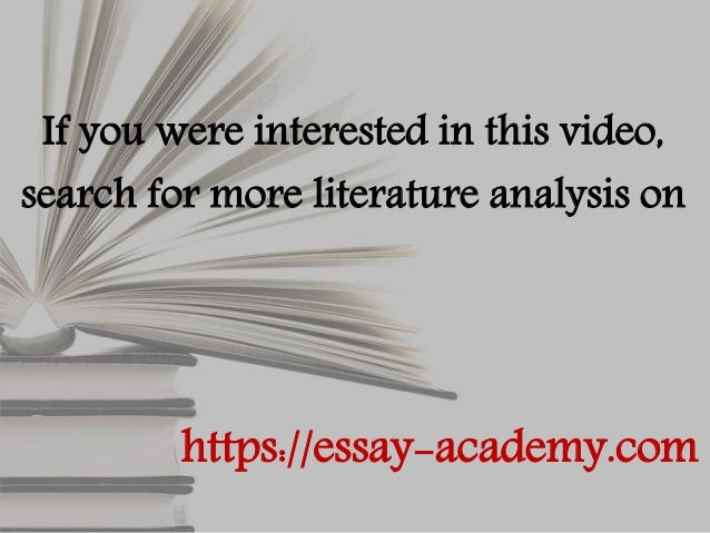 a literary analysis of the scarlet letter