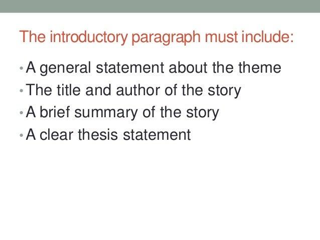 Write my thesis generator for literary analysis