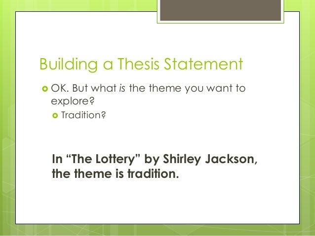 best thesis statement generator