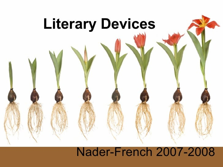 Literary Devices Nader-French 2007-2008