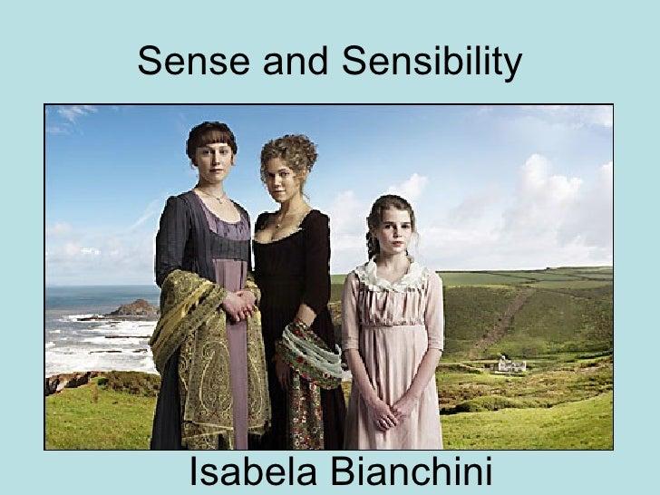 Sense and Sensibility Isabela Bianchini