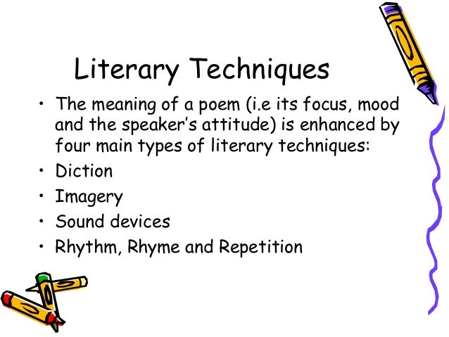 literary techniques in anthem Knowledge4africa worksheet with questions, answers and notes for wilfred owen's anthem for doomed youth wilfred owen some poetic techniques used line 1:.