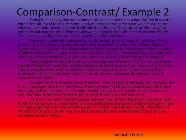literary comparison contrast essay These sections describe in detail the assignments students may complete when writing about literature these sections also discuss different approaches (literary theory/criticism) students may use to write about literature.