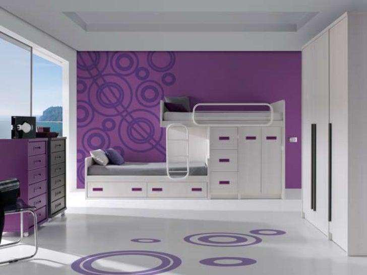 Literas dormitorios juveniles modernos.