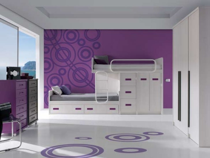 Literas dormitorios juveniles modernos for Dormitorios ahorro total