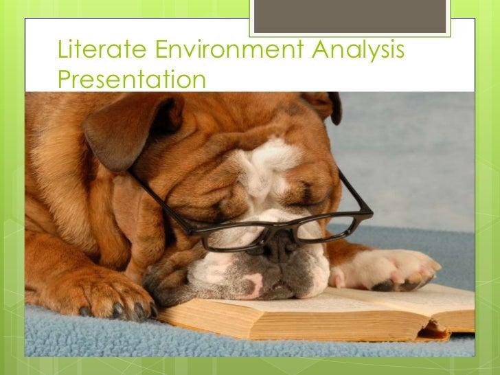 Literate Environment AnalysisPresentation