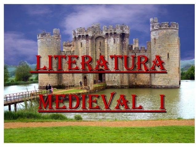 LITERATURA MEDIEVAL I