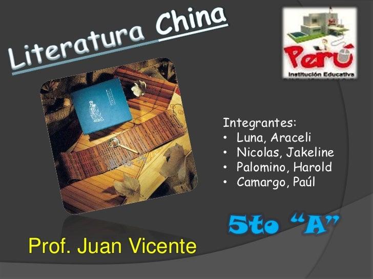 Integrantes:                     • Luna, Araceli                     • Nicolas, Jakeline                     • Palomino, H...