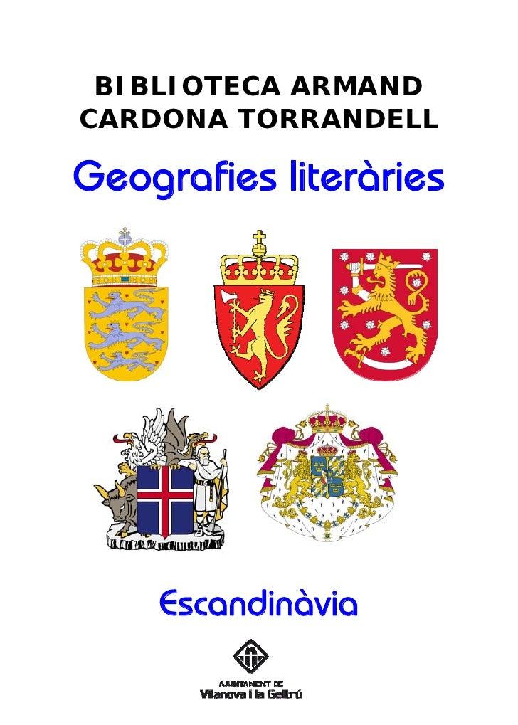 Geografies Literàries - Escandinàvia