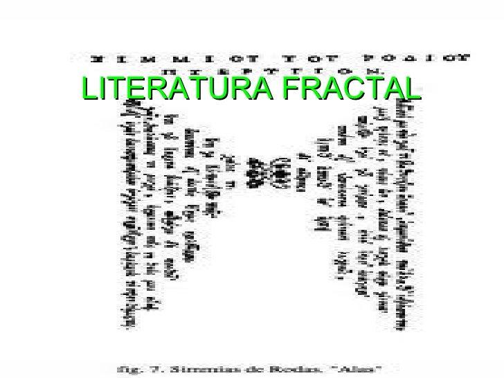 Literatura fractal