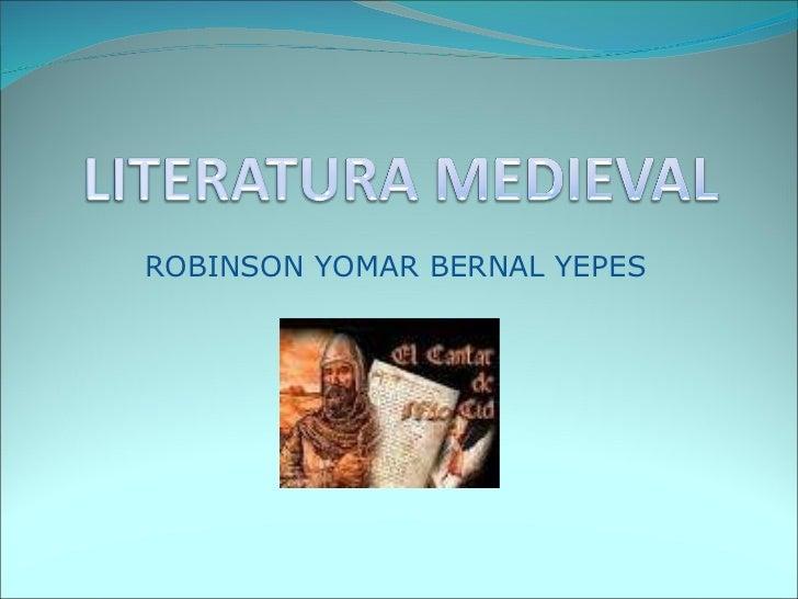 ROBINSON YOMAR BERNAL YEPES