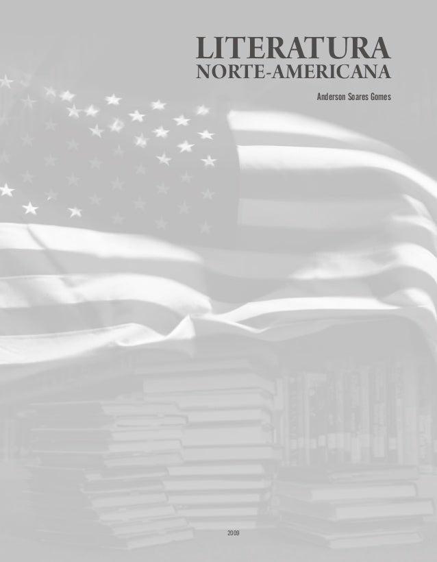 2009 LITERATURA NORTE-AMERICANA Anderson Soares Gomes