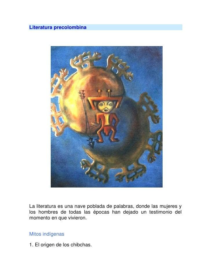 Literatura precolombina2