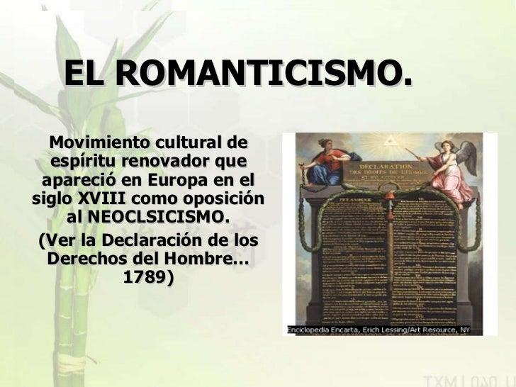 Literatura Universal Romanticismo