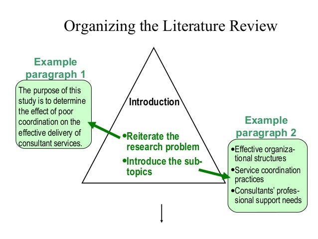 Introduction about literature review