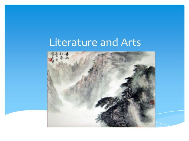 Literature and Arts
