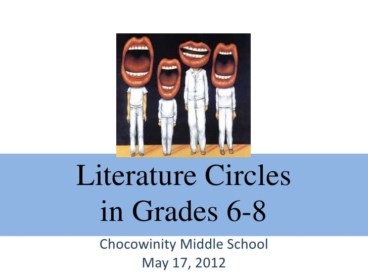 Literature Circles  in Grades 6-8 Chocowinity Middle School      May 17, 2012