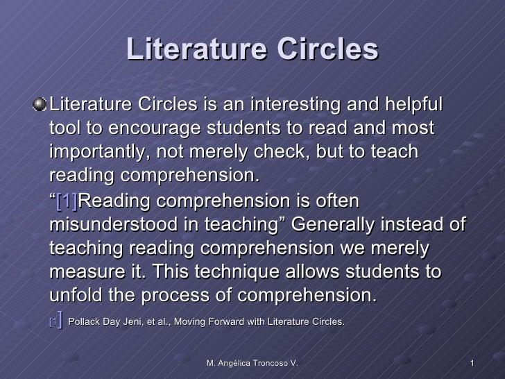 Literature circles ppt for lit workshop 141210