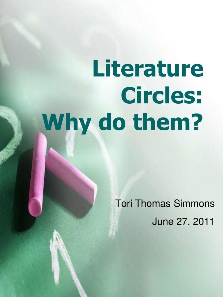 Literature Circles 2011 Summer VAT Meeting