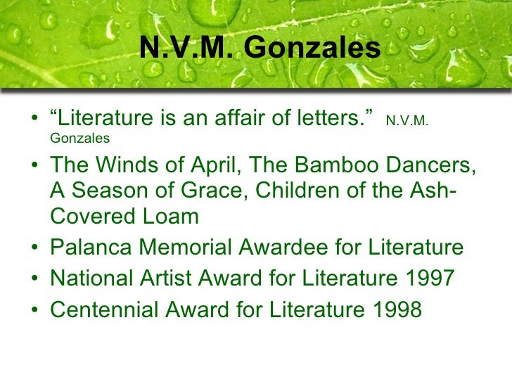 bread of salt nvm gonzales Books n v m gonzalez - books/stories/written works reference the bread of salt and other stories n v m gonzález 15 a season of grace n v m gonzález.