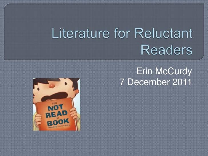 Erin McCurdy7 December 2011