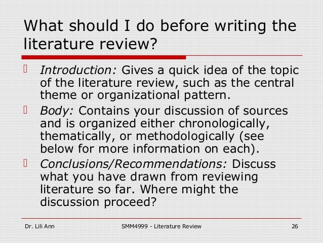 how do i write a literature review for my dissertation Learn how to write a literature review for your thesis or dissertation.
