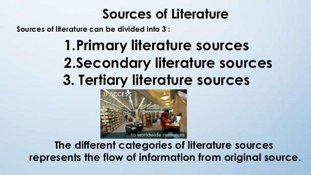 Literary research methodology