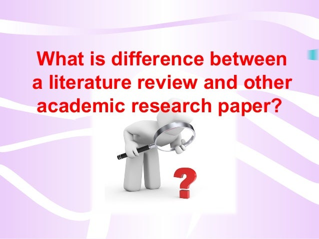 Write my use of literature review in research