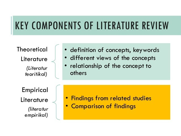 Literature review writing service laws