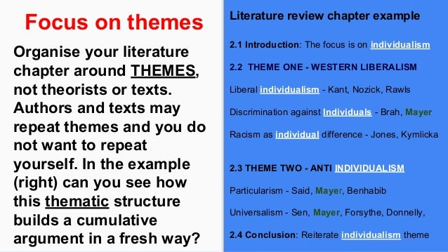 How to write a literature review in a dissertation