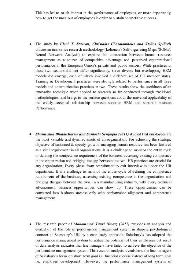 literature review on change management pdf