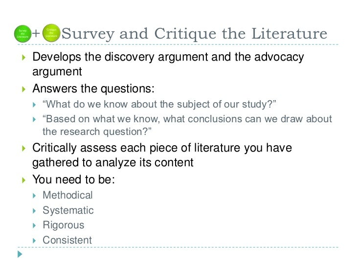 how to do a research critique